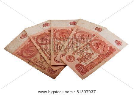 Soviet 10 Rubles