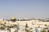 pic of aqsa  - Southern Wall of Temple Mount in Jerusalem - JPG