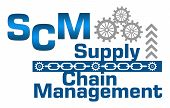 stock photo of supply chain  - SCM  - JPG