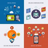 picture of social-security  - Icons for social network - JPG