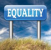 pic of equality  - equality dont discriminate and solidarity equal rights and opportunities no discrimination