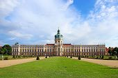 image of palace  - Charlottenburg palace and garden in Berlin - JPG