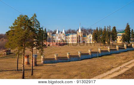Landscape with castle