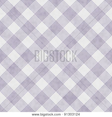 Purple And White Striped Gingham Tile Pattern Repeat Background