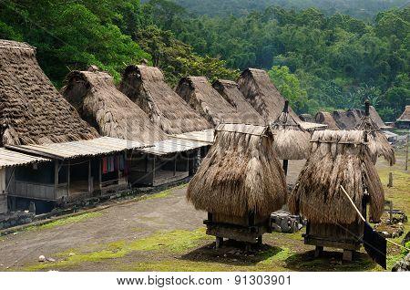Ethnic Straw Village