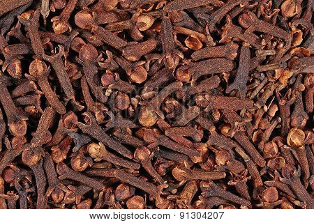 Dried Clove Background