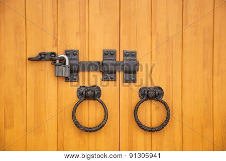 Lock and bolt