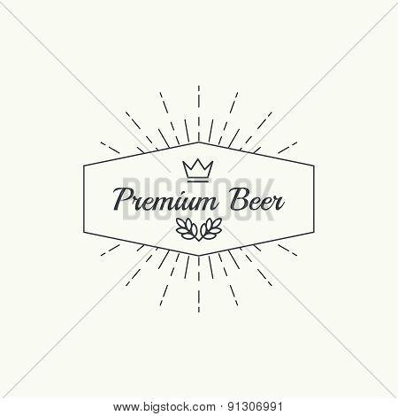 Beer brewery emblems