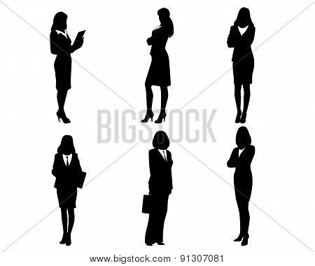 Six Silhouettes