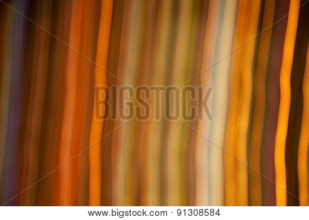 holidays, illumination and electricity concept - golden bright night lights background