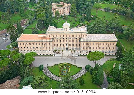 Residence of the Pope in Vatican, Rome