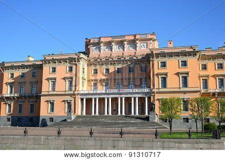 The Mikhailovsky Castle (engineers Castle).