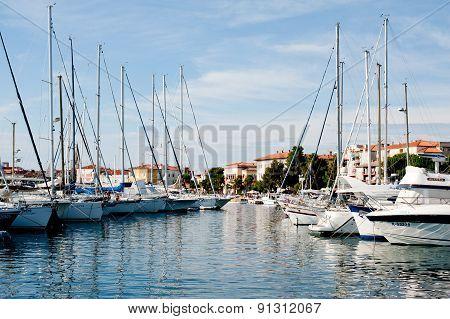Port In Porec, Croatia