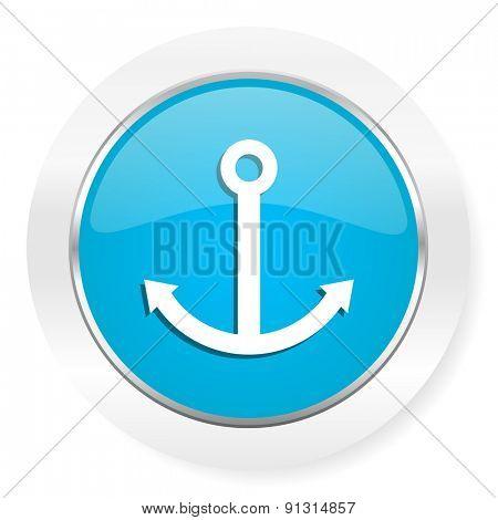 anchor icon sail sign