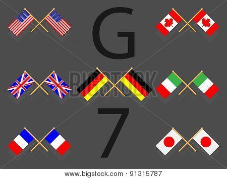 Flag Set G7