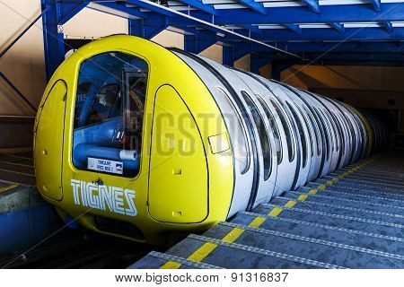 Cable Car Tignes, France