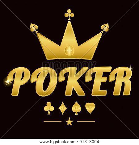 Gold Poker Logo 02