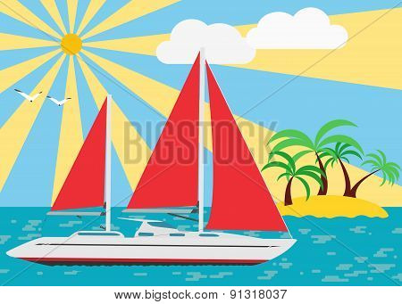 Sailing In The Summer