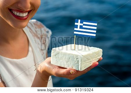 Traditional greek feta