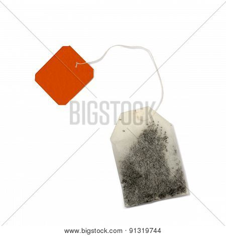 Teabag With Red Label