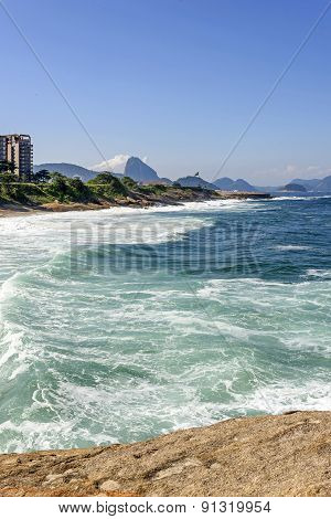 Sea Devil beach in Ipanema