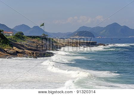 Devil's Beach and Fort Copacabana