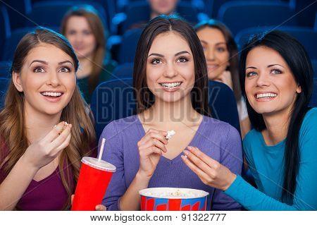 Girls At The Cinema.