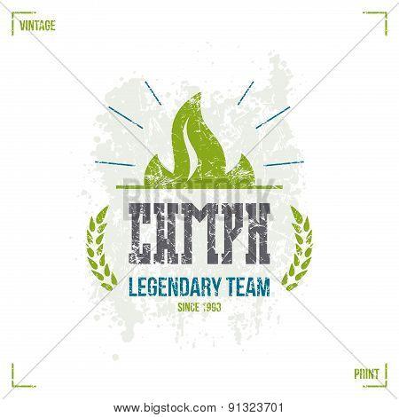 Sport Team Emblem