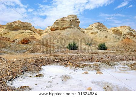 Landscape Near The Dead Sea, Israel