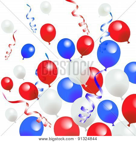 Fourth Of July Balloons