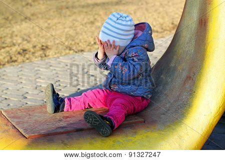 Little Crying Girl