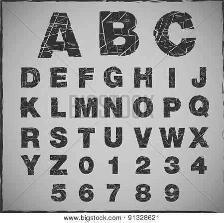 Broken Alphabet