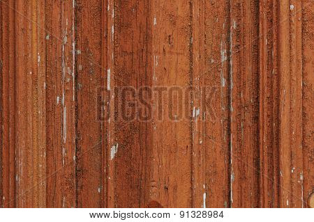 Texture Of Old Paint On Wooden Surface