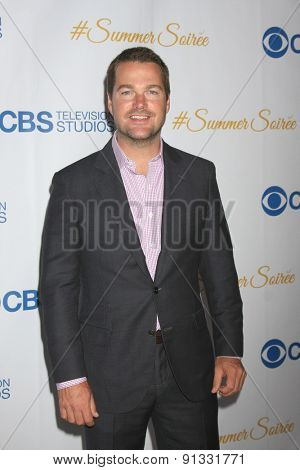 LOS ANGELES - MAY 18:  Chris O'Donnell at the CBS Summer Soiree 2015 at the London Hotel on May 18, 2015 in West Hollywood, CA