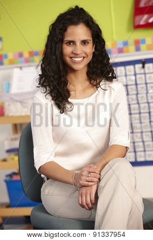 Portrait Of Elementary Age School Teacher