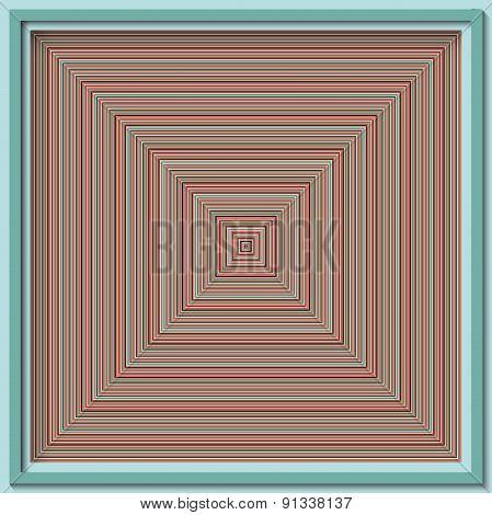Seamless Geometric Colorful Striped Pattern Background