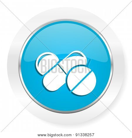 medicine icon drugs symbol pills sign
