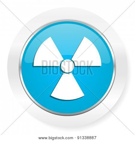 radiation icon atom sign