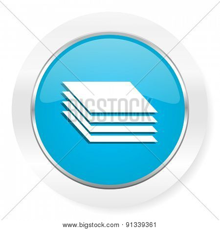 layers icon pages sign