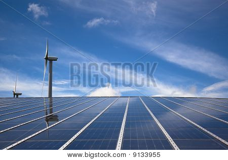 eco power : wind and solar