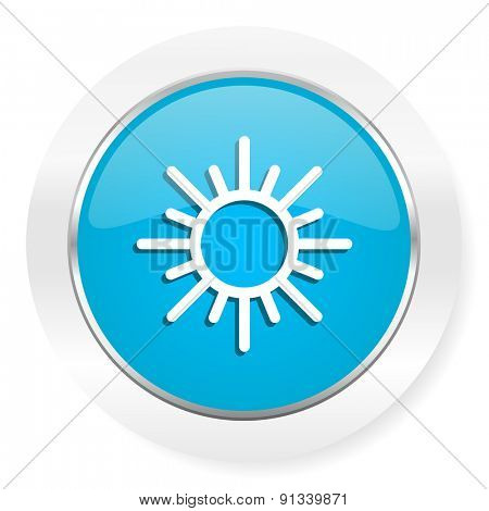 sun icon waether forecast sign