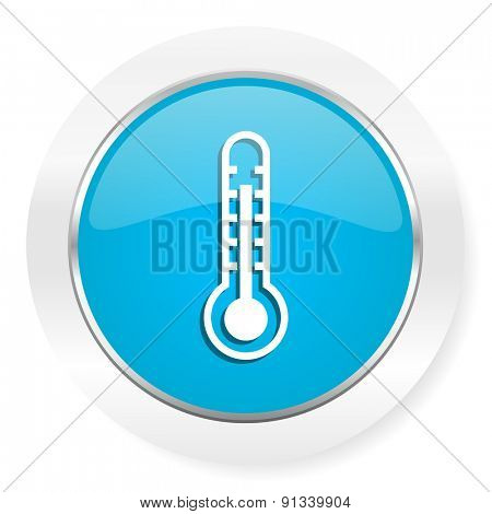 thermometer icon temperature sign