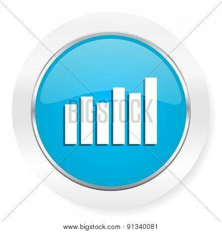 graph icon bar graph sign