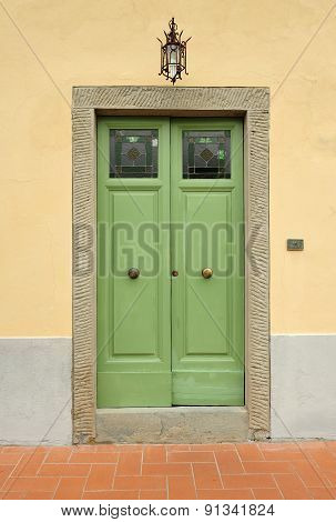 Rustic fron door