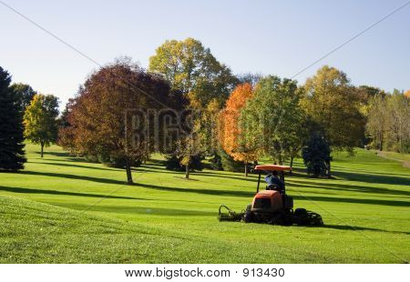 Golf Course Mower
