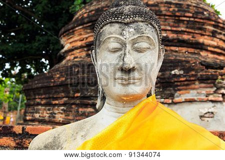 Giant ancient Buddha