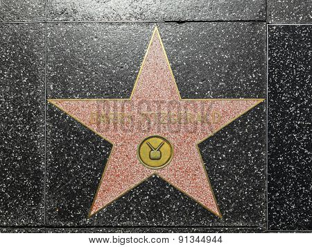 Barry Fitzgeralds Star On Hollywood Walk Of Fame