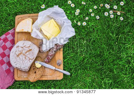 Bread,butter And Cheese