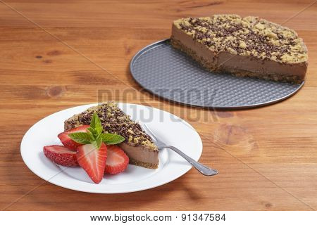 Chocolate Cacke Plate