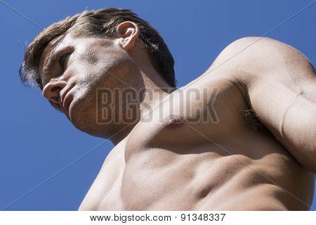 Muscular Male Hunk